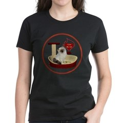 Cat #1 Women's Dark T-Shirt