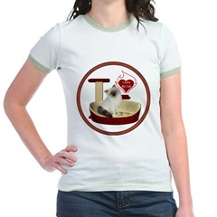 Cat #1 Jr. Ringer T-Shirt