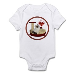 Cat #1 Infant Bodysuit