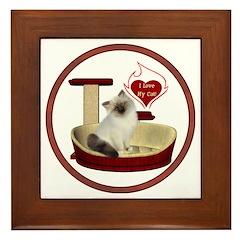 Cat #1 Framed Tile