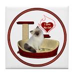 Cat #1 Tile Coaster