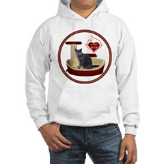 Cat #2 Hooded Sweatshirt