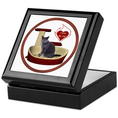 Cat #2 Keepsake Box