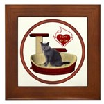 Cat #2 Framed Tile