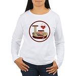 Cat #3 Women's Long Sleeve T-Shirt