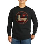 Cat #3 Long Sleeve Dark T-Shirt