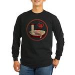 Cat #3 Long Sleeve Dark T-Shirt