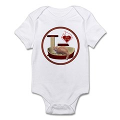 Cat #3 Infant Bodysuit