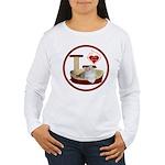 Cat #4 Women's Long Sleeve T-Shirt