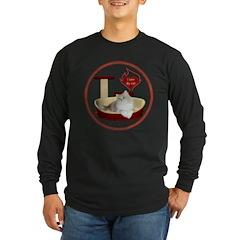 Cat #4 Long Sleeve Dark T-Shirt