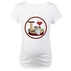 Cat #4 Maternity T-Shirt