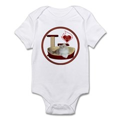 Cat #4 Infant Bodysuit