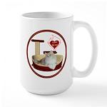 Cat #4 Large Mug