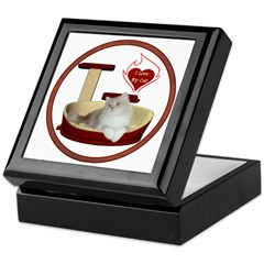 Cat #4 Keepsake Box