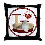 Cat #4 Throw Pillow