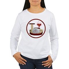 Cat #5 Women's Long Sleeve T-Shirt