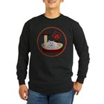 Cat #5 Long Sleeve Dark T-Shirt
