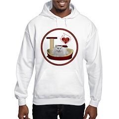 Cat #5 Hooded Sweatshirt