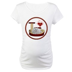 Cat #5 Maternity T-Shirt