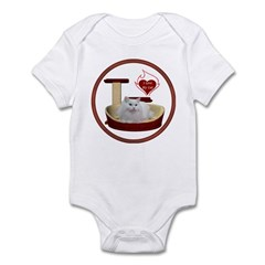 Cat #5 Infant Bodysuit