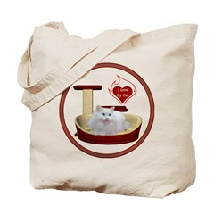 Cat #5 Tote Bag