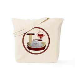 Cat #5 Tote Bag