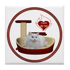 Cat #5 Tile Coaster