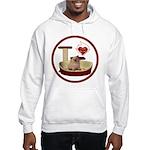 Cat #6 Hooded Sweatshirt
