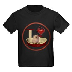 Cat #6 Kids Dark T-Shirt