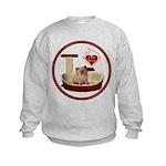 Cat #6 Kids Sweatshirt