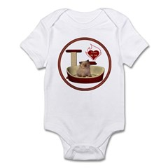 Cat #6 Infant Bodysuit
