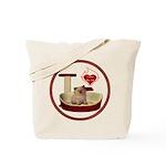 Cat #6 Tote Bag