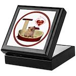 Cat #6 Keepsake Box