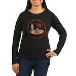 Cat #7 Women's Long Sleeve Dark T-Shirt
