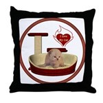 Cat #7 Throw Pillow
