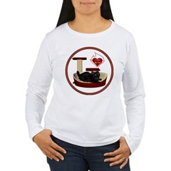 Cat #8 Women's Long Sleeve T-Shirt