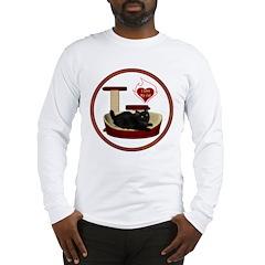 Cat #8 Long Sleeve T-Shirt