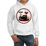 Cat #8 Hooded Sweatshirt