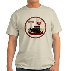 Cat #8 Light T-Shirt