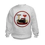 Cat #8 Kids Sweatshirt