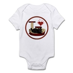 Cat #8 Infant Bodysuit