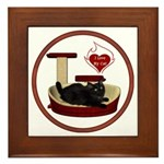 Cat #8 Framed Tile