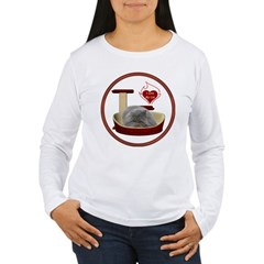Cat #9 Women's Long Sleeve T-Shirt