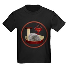 Cat #9 Kids Dark T-Shirt