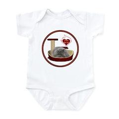 Cat #9 Infant Bodysuit