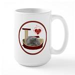 Cat #9 Large Mug
