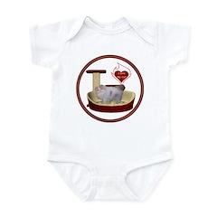 Cat #10 Infant Bodysuit