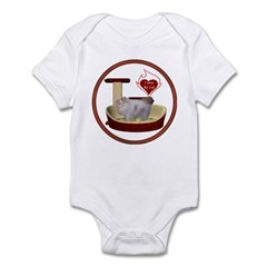 Cat #10 Infant Bodysuit