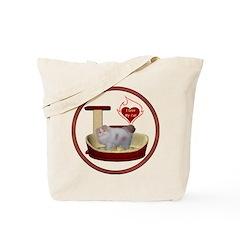 Cat #10 Tote Bag