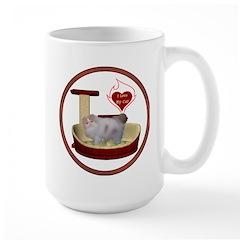 Cat #10 Large Mug
